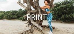 Print-fittnesskleding